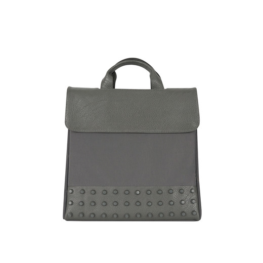 [콰니] [THE HN] Classic Grey Studs Backpack_Medium