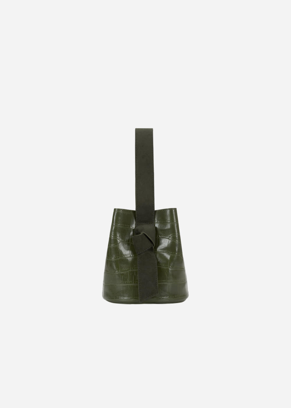 Micro Wani Knot Bucket Avocado