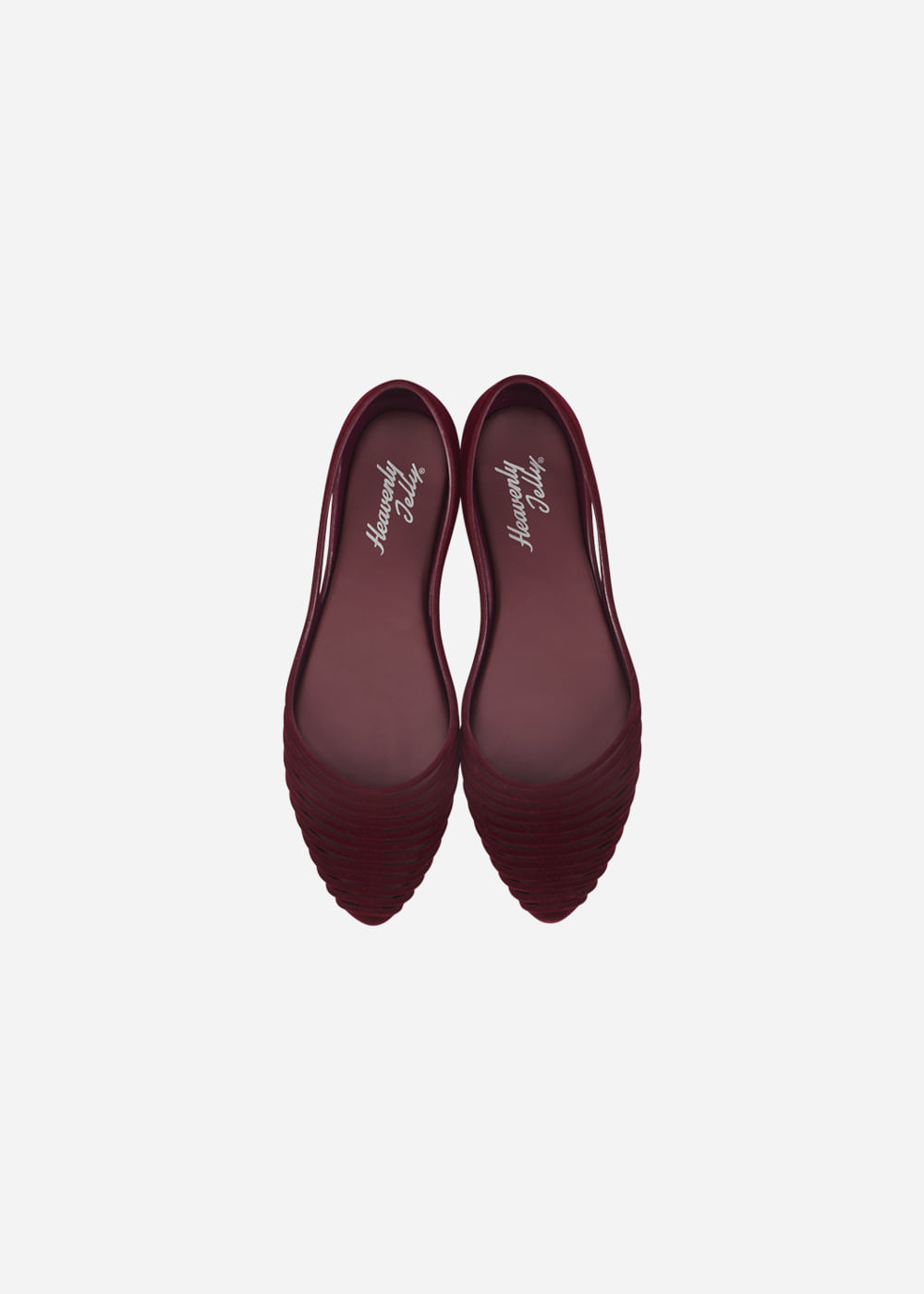 [Heavenly Jelly] Grace Suede Burgundy
