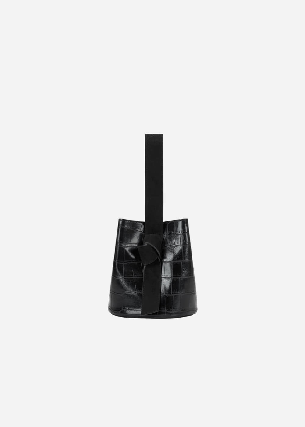 Micro Wani Knot Bucket Black Bean