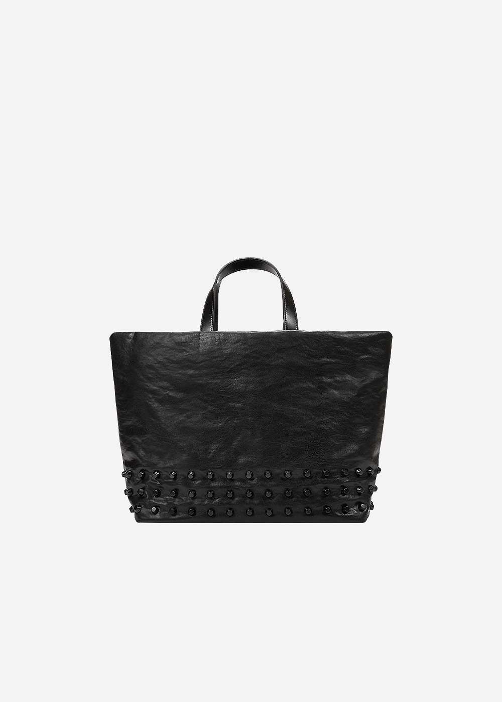 Stud Tote Black Medium